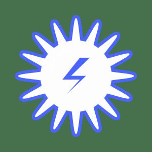 illustration som visar solenergi